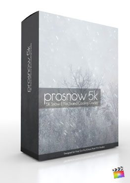 Final Cut Pro X Plugin ProSnow 5K from Pixel Film Studios