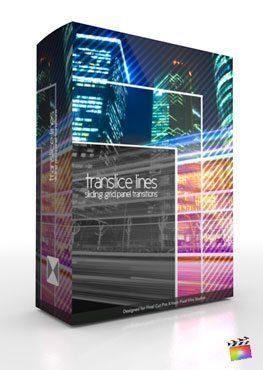 Final Cut Pro X Plugin TranSlice Lines from Pixel Film Studios