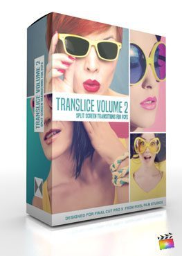 Final Cut Pro X Plugin TranSlice Volume 2 from Pixel Film Studios