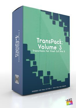 Final Cut Pro X Plugin TransPack Volume 3 from Pixel Film Studios