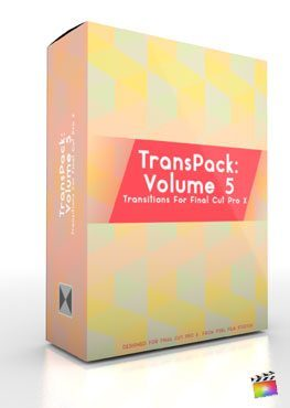 Final Cut Pro X Plugin TransPack Volume 5 from Pixel Film Studios