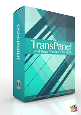 Final Cut Pro X Plugin TransPanel from Pixel Film Studios