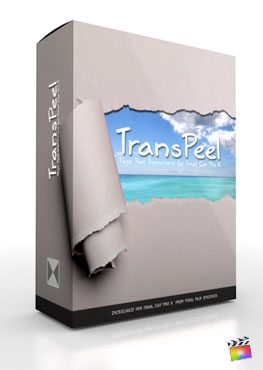 Final Cut Pro X Plugin TransPeel from Pixel Film Studios
