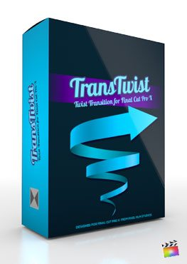 Final Cut Pro X Plugin TransTwist from Pixel Film Studios