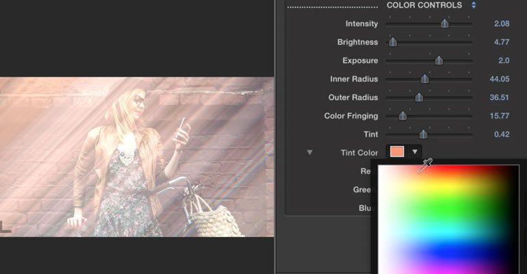 Professional - Light Streaks for Final Cut Pro X