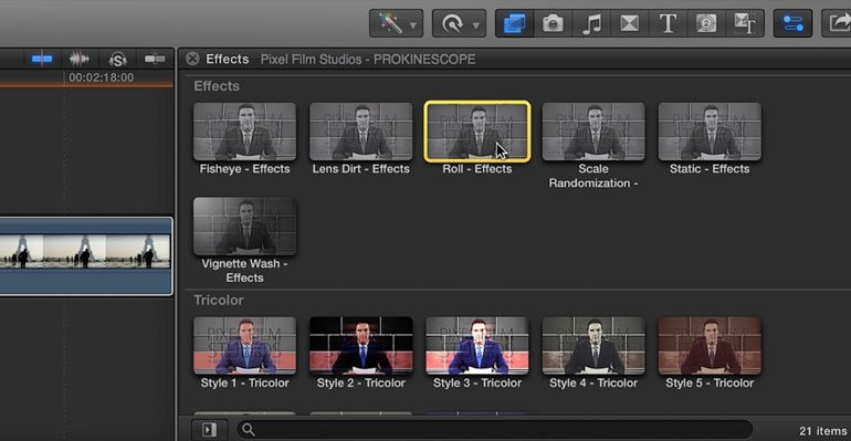 Professional - Color Grading Effects for Final Cut Pro X