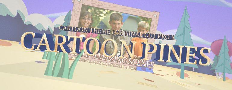 Professional - Cartoon Theme for Final Cut Pro X - for Final Cut Pro X