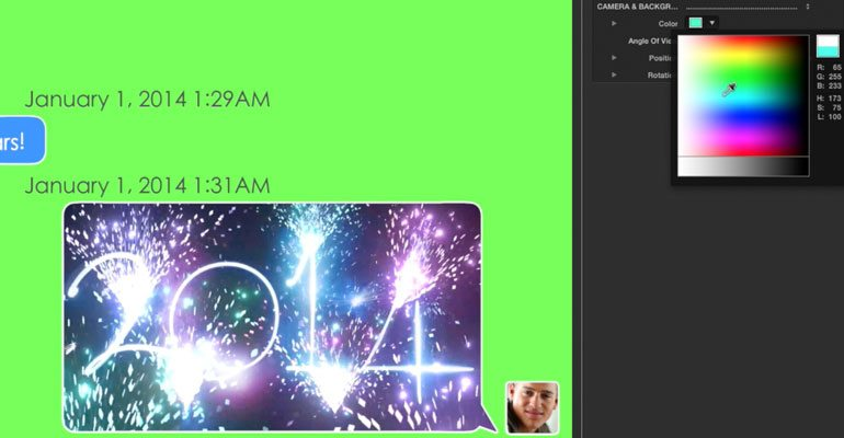 Professional - Messaging Text Titles for Final Cut Pro X