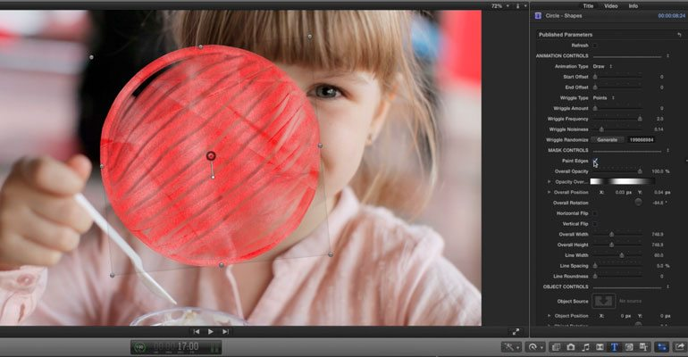 Professional - Media Revealing Effect for Final Cut Pro X - for Final Cut Pro X