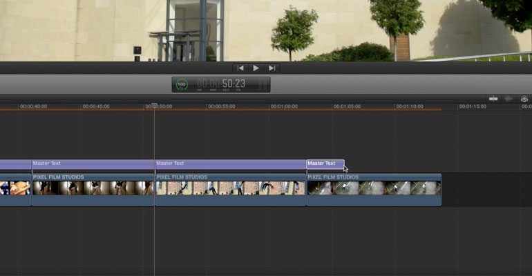 Professional - Flipping Text Effect Titles for Final Cut Pro X