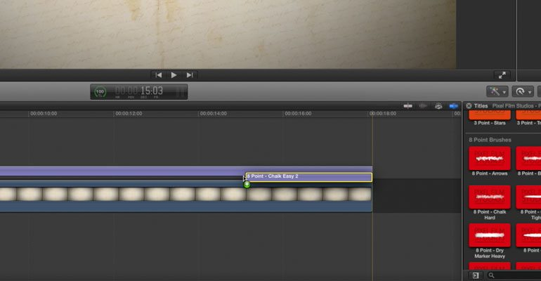 Drawing Lines In Final Cut Pro : Final cut pro animation tools prowrite