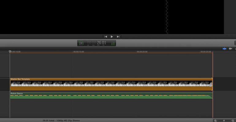 FCPX Audio Visualizer