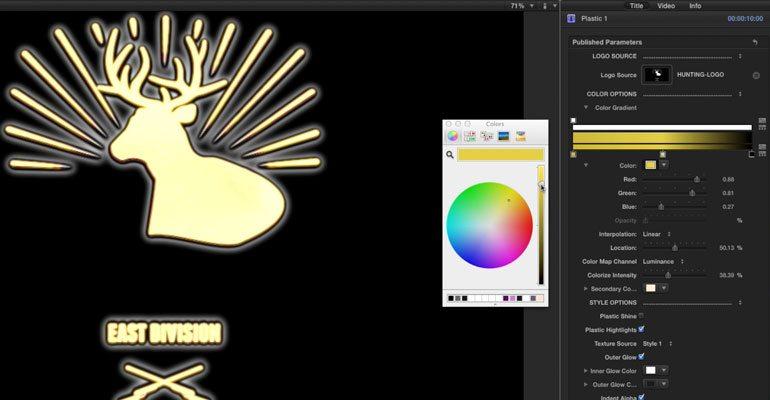 Professional - 3D Logo Effect for Final Cut Pro X - for Final Cut Pro X