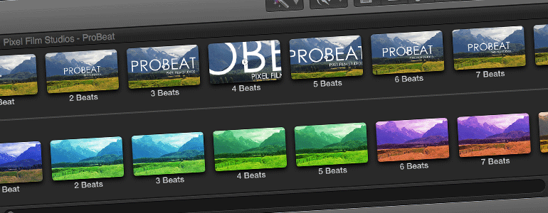Professional - Tempo Matching Effect for Final Cut Pro X - for Final Cut Pro X