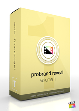 Final Cut Pro X Plugin ProBrand Reveal from Pixel Film Studios