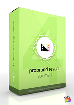 Final Cut Pro X Plugin ProBrand Reveal Volume 4 Cartoon Edition from Pixel Film Studios