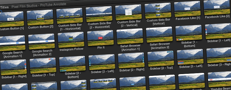 Professional - Social Tools for Final Cut Pro X