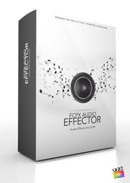 Final Cut Pro X Plugin FCPX Audio Effector from Pixel Film Studios