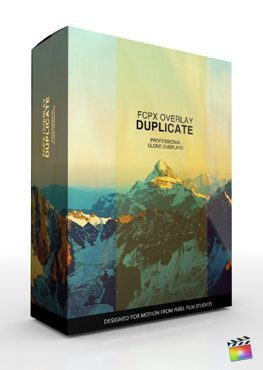 Final Cut Pro X Plugin FCPX Overlay Duplicate from Pixel Film Studios