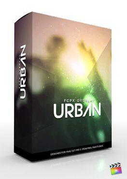 Final Cut Pro X Plugin FCPX Overlay Urban from Pixel Film Studios