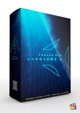 Final Cut Pro X Plugin ProThird Hud Volume 2 from Pixel Film Studios