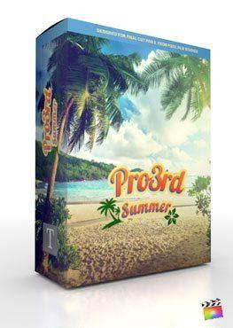 Final Cut Pro X Plugin Pro3rd Summer from Pixel Film Studios