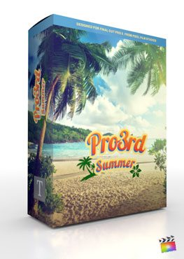Final Cut Pro X Plugin Pro3rd Summer from Pixel Film Studios