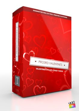 Final Cut Pro X Plugin Pro3rd Valentines from Pixel Film Studios