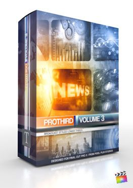 Final Cut Pro X Plugin Pro3rd Volume 3 from Pixel Film Studios