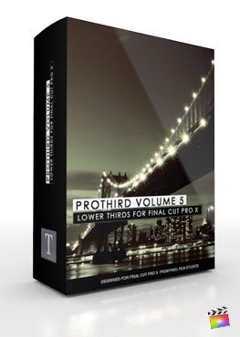 Final Cut Pro X Plugin Pro3rd Volume 5 from Pixel Film Studios