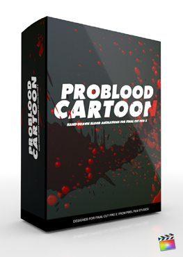 Final Cut Pro X Plugin ProBlood Cartoon from Pixel Film Studios