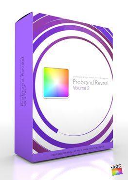 Final Cut Pro X Plugin ProBrand Reveal Volume 2 from Pixel Film Studios
