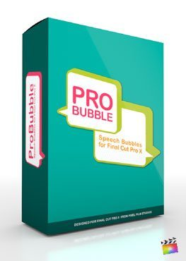 Final Cut Pro X Plugin ProBubble from Pixel Film Studios