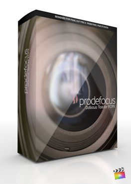 Final Cut Pro X Plugin ProDefocus from Pixel Film Studios