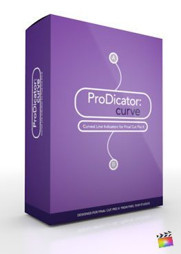Final Cut Pro X Plugin ProDicator Curve from Pixel Film Studios