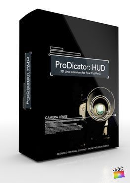 Final Cut Pro X Plugin ProDicator HUD from Pixel Film Studios