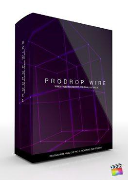 Final Cut Pro X Plugin ProDrop Wire from Pixel Film Studios