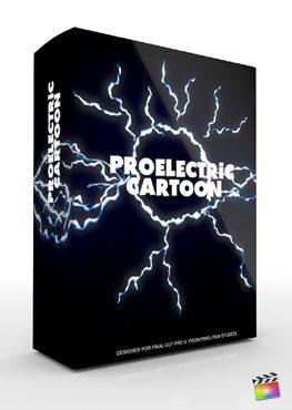 Final Cut Pro X Plugin ProElectric Cartoon from Pixel Film Studios