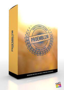 Final Cut Pro X Plugin ProEmblem from Pixel Film Studios