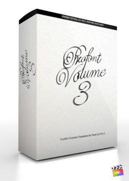 Final Cut Pro X Plugin ProFont Volume 3 from Pixel Film Studios