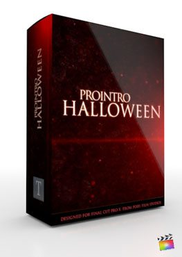 Final Cut Pro X Plugin ProIntro Halloween from Pixel Film Studios