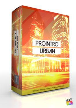 Final Cut Pro X Plugin ProIntro Urban from Pixel Film Studios