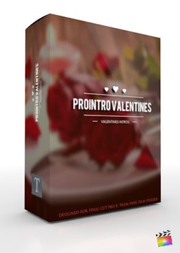 Final Cut Pro X Plugin ProIntro Valentines from Pixel Film Studios