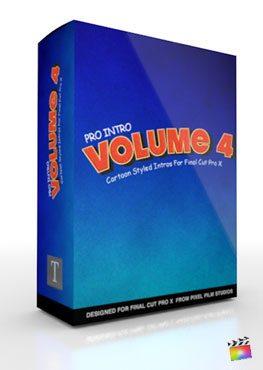Final Cut Pro X Plugin ProIntro Volume 4 from Pixel Film Studios