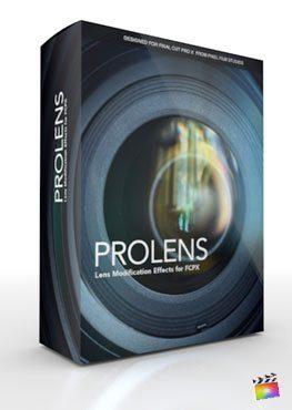 Final Cut Pro X Plugin ProLens from Pixel Film Studios