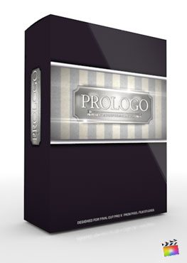 Final Cut Pro X Plugin ProLogo from Pixel Film Studios