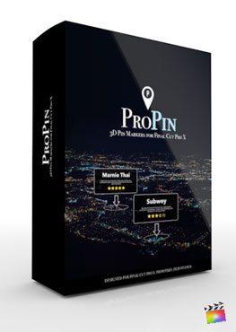 Final Cut Pro X Plugin ProPin from Pixel Film Studios
