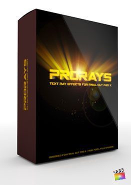 Final Cut Pro X Plugin ProRays from Pixel Film Studios