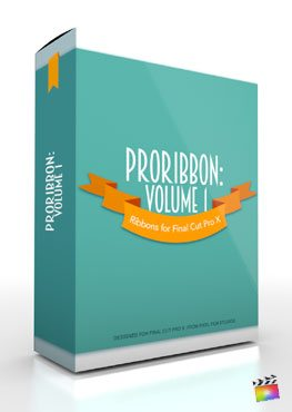 Final Cut Pro X Plugin ProRibbon Volume 1 from Pixel Film Studios