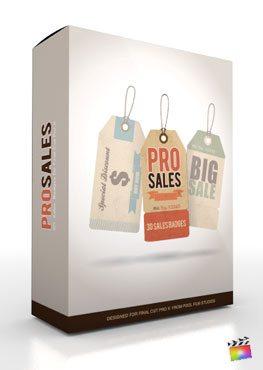 Final Cut Pro X Plugin ProSales from Pixel Film Studios